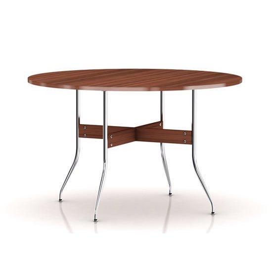 ネルソン スワッグレッグ ダイニングテーブル ラウンド NS5852 ウォールナット ジョージネルソン ハーマンミラー