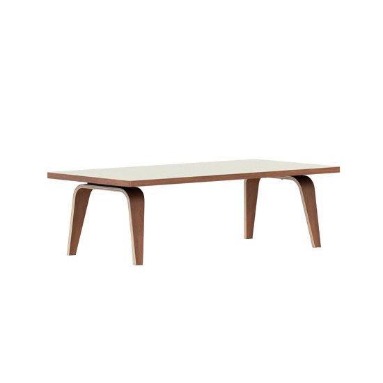 イームズレクタンギュラーコーヒーテーブル<br>1220mm幅 ベニアプトップ<br>ホワイトアッシュ<br>ハーマンミラー正規品