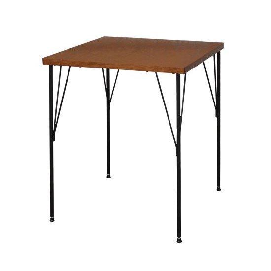 AT-6060 ブルノ カフェテーブル<br>Brno Cafe Table<br>正方形 60cm<br>ダイニングテーブル