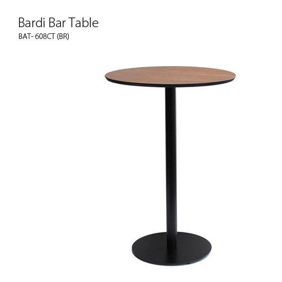 BAT-608CT バルディバーテーブル<br>Bardi bar table<br>ラウンド 直径60cm カウンターテーブル