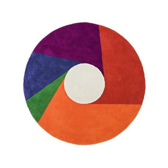 マックス・ビル ラグ カラーホイール color wheel 正規品 / ラグマット