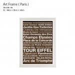 アートフレーム Paris パリス 額縁 フレーム A1サイズ TR-4199