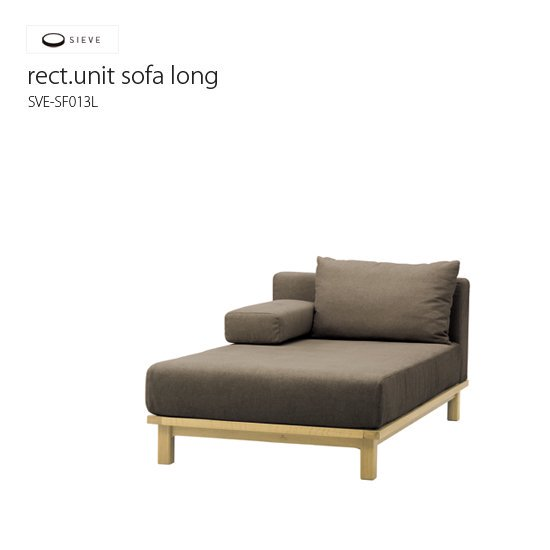 SVE-SF013L rect.unit sofa long
