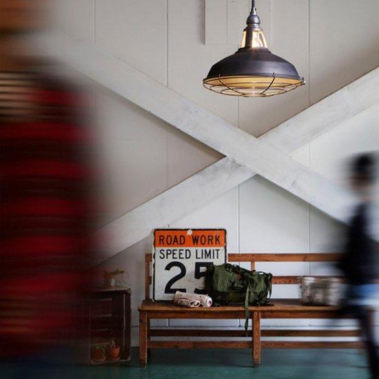 AW-0409 Jail pendant L ジェイルペンダント L ペンダントライト 1灯用 LED対応