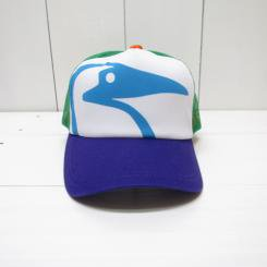 チャムス/CHUMS/Booby Mesh Cap/Green×Purple