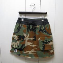 チャムス/CHUMS/Sweat Bush Skirt/Booby Camo