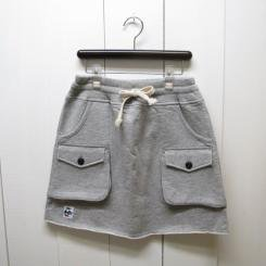 チャムス/CHUMS/Sweat Bush Skirt/H・Gray