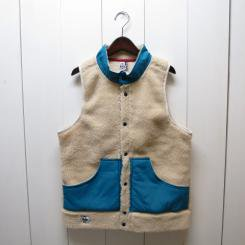 チャムス/CHUMS/Boa Fleece FS Hurricane Vest/Natural
