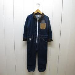 チャムス/CHUMS/Kid's Hurricane Coverall Booby/Denim