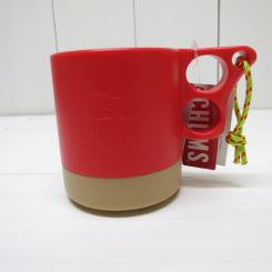 チャムス/CHUMS/Camper Mug Cup �/Red×Beige