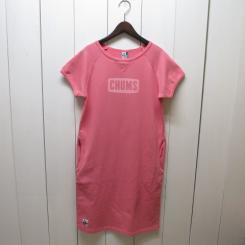 チャムス/CHUMS/S/S Logo Dress/Spring Salmon