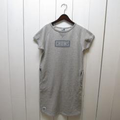 チャムス/CHUMS/S/S Logo Dress/H・Gray