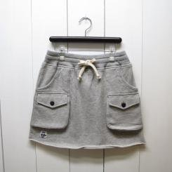 チャムス/CHUMS/Loop Sweat Bush Skirt/H・Gray