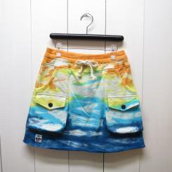 チャムス/CHUMS/Loop Sweat Bush Skirt/Tie-Dye BD