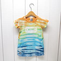 チャムス/CHUMS/Kid's S/S Logo Dress/Tie-Dye BD