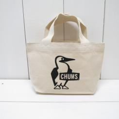 チャムス/CHUMS/Booby Mini Canvas Tote/Black