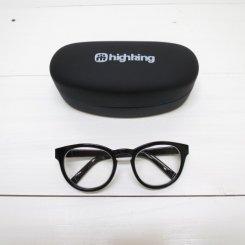 ハイキング/high king/ffind glasses/ブラック