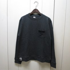 チャムス/CHUMS/Keystone Sweat Crew Top/H・Charcoal