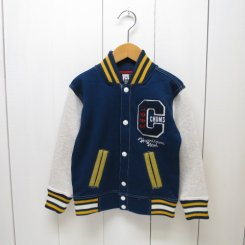 チャムス/CHUMS/Kid's Stadium Jacket/Navy・White