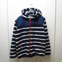 チャムス/CHUMS/Fleece Elmo Hoodie/Navy-Border