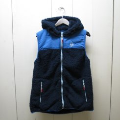 チャムス/CHUMS/Fleece Elmo Vest/Navy