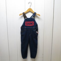 チャムス/CHUMS/Kid's Boat Logo Over All/Indigo