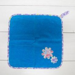 フェフェ/fafa/PATSY HAND TOWEL/TQ.BLUE