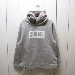 チャムス/CHUMS/CHUMS Logo Pull Over Parka/H・Gray-White