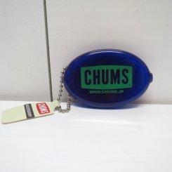 チャムス/CHUMS/CHUMS Logo Quikoin with Ball Chain/Purple