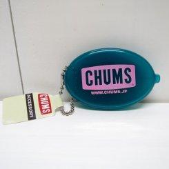 チャムス/CHUMS/CHUMS Logo Quikoin with Ball Chain/Teal