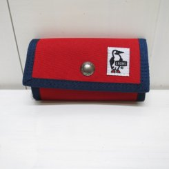チャムス/CHUMS/Eco Key Case/Red
