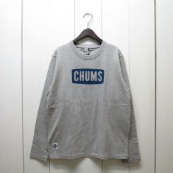 チャムス/CHUMS/CHUMS Logo L/S T-Shirt/H・Gray