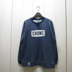 チャムス/CHUMS/CHUMS Logo Crew Top/H・Navy