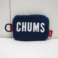 チャムス/CHUMS/Boat Logo Pocket Tissue Coin Sweat/H・Navy