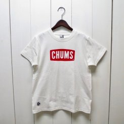チャムス/CHUMS/CHUMS Logo T-Shirt/White
