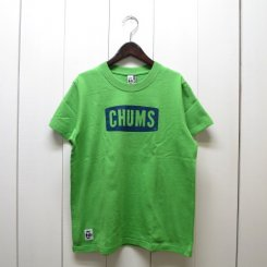 チャムス/CHUMS/CHUMS Logo T-shirt/H・Green
