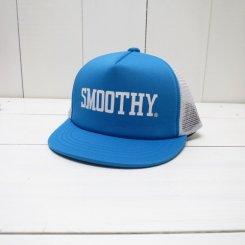 スムージー/SMOOTHY/ロゴメッシュキャップ/BLUE