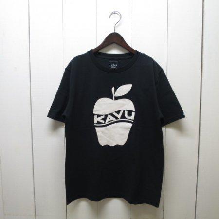カブー/KAVU/APPLE T-Shirt/Black