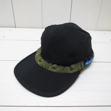 カブー/KAVU/SYNTHETIC STRAP CAP/Black