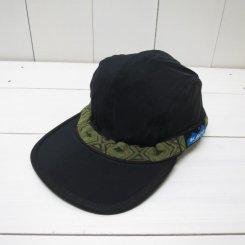 カブー/KAVU/SYNTHETIC STRAP CAP/Black