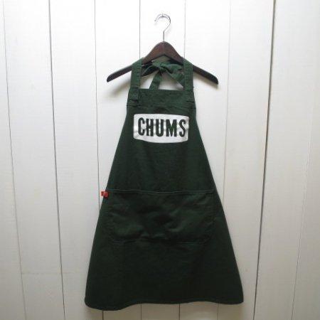 チャムス/CHUMS/Boat Logo Apron/Green