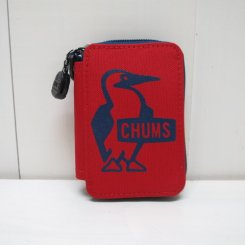 チャムス/CHUMS/Eco Key Zip Case/Red