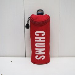 チャムス/CHUMS/Eco Cylinder Pouch/Red