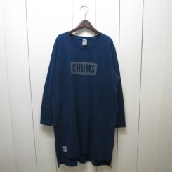 チャムス/CHUMS/Boat Logo L/S Dress/Navy