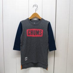 チャムス/CHUMS/Kid's Boat Logo L/S Dress/Crazy