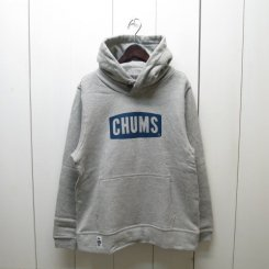 チャムス/CHUMS/CHUMS Logo Pull Over Parka/H・Gray-Navy