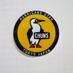 チャムス/CHUMS/Sticker Round Booby Bird