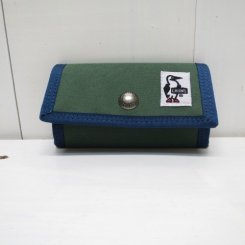 チャムス/CHUMS/Eco Key Case/Forest Green