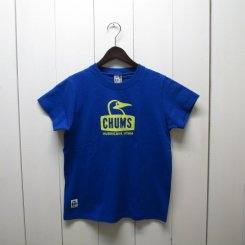 チャムス/CHUMS/Booby Face T-Shirt/Biue Hawaii