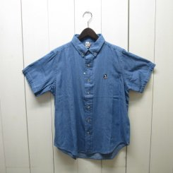 チャムス/CHUMS/Big Denim Shirt/Lt.Blue